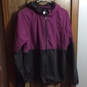 Reebok fleece jacket size medium